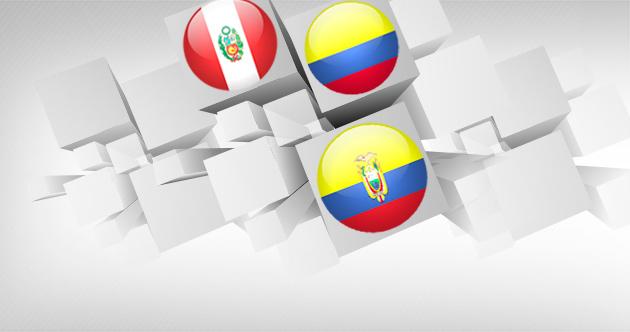 La UP en Bogotá, Lima y Quito