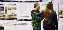 Alumnos presentan intervenciones en el Distrito de las Artes