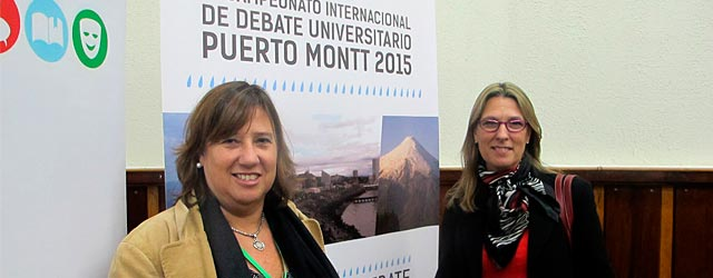 Alumnas participaron en Torneo Internacional de Debate en Puerto Montt