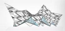 La oruga que nació de un origami
