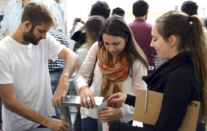 Arquitech 2015: Un día de capacitación teórica y experimentación