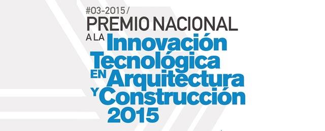 Premio SCA 2015 a la innovación tecnológica en arquitectura y construcción