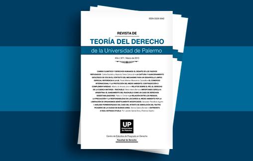 Revista Teoría del Derecho: Convocatoria para la presentación de artículos