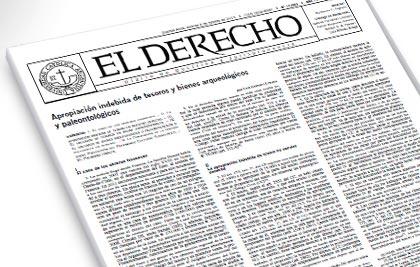 El Profesor Luis Losada aporta dos trabajos de Doctrina y Jurisprudencia