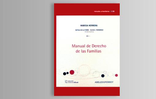 Nuevo libro de la Profesora Marisa Herrera