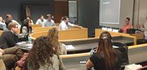 Encuentro con alumnos del MBA de la Lipscomb University de Nashville, Tennessee, Estados Unidos.