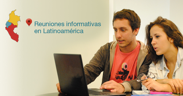 Reuniones informativas en Lima, Quito y Bogotá