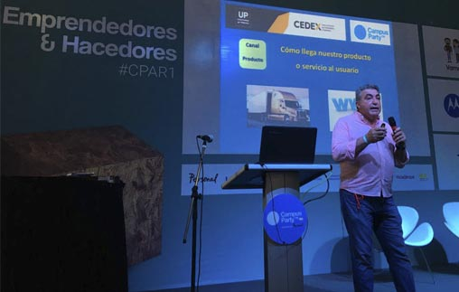 CEDEX en Campus Party Argentina 2016