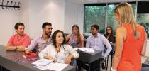 Charla con profesores de Recursos Humanos