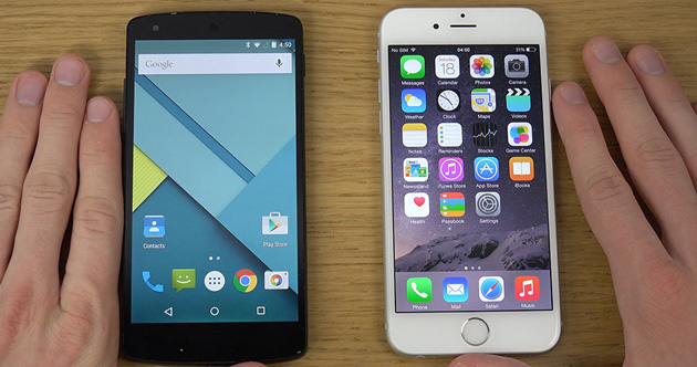 Clase abierta: Android vs. iOS