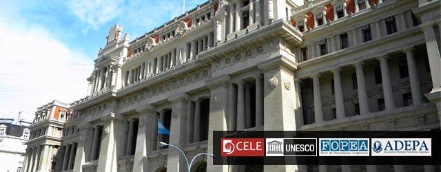 Conferencia: Prensa y Poder Judicial, avances y desafíos