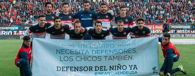 El fútbol argentino se suma al reclamo por el Defensor de Niños, Niñas y Adolescentes