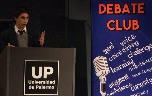 "UP sede de los debates finales de ""Debate Club"""