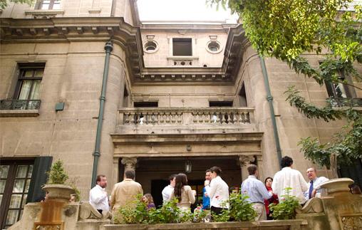 Alumnos de la Universidad Alberto Hurtado visitan la UP