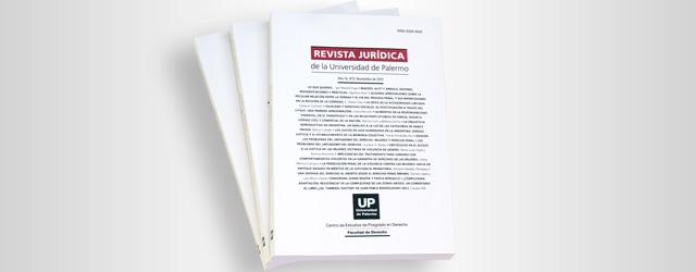 Revista Jurídica: Convocatoria para la presentación de artículos