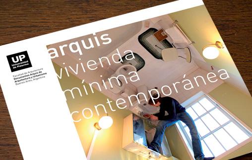 Presentación: Revista Arquis. Vivienda Mínima Contemporánea