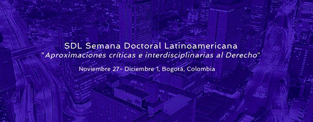 La Profesora Agustina Ramón Michel participó en el seminario doctoral en Colombia