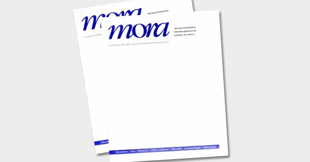 Nueva publicación de las Profesoras Agustina Ramón Michel y Agostina Allori en la Revista Mora