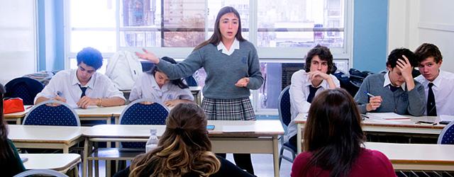 La Facultad de Derecho fue sede de debates entre estudiantes secundarios