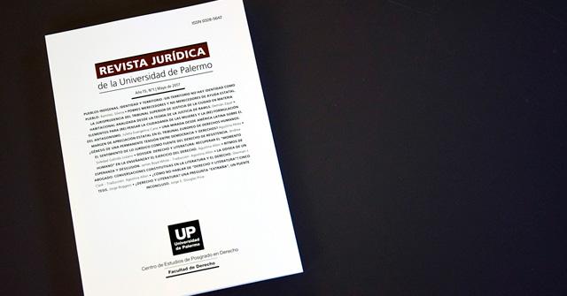 Nueva edición de la Revista Jurídica