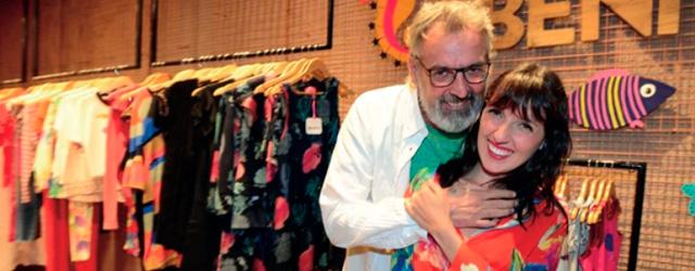Benito Fernández y su hija Marina: