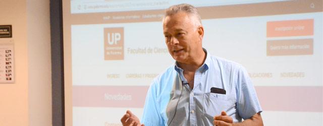 Emilio Müller, Managing Director de Scania Argentina,visita la UP