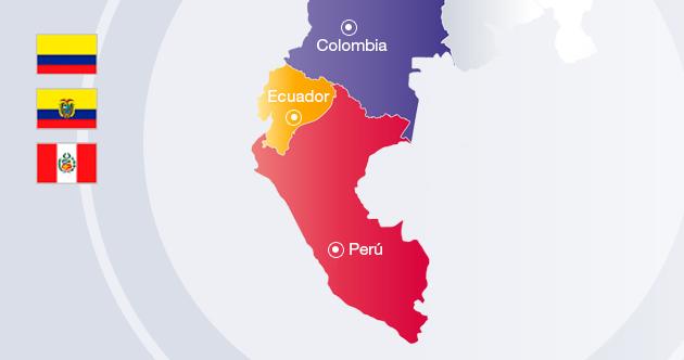 La UP enLima, Quito, Guayaquil y Bogotá