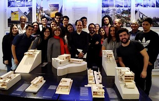 Angelo Bucci, uno de los arquitectos más premiados de Brasil en la UP