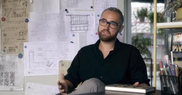 Juan Andrés Campollo, egresado de Arquitectura UP, se especializó en China y Rusia