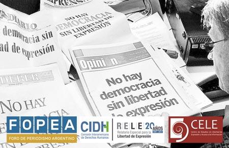 Reflexiones sobre la agenda de libertad de expresión en Argentina