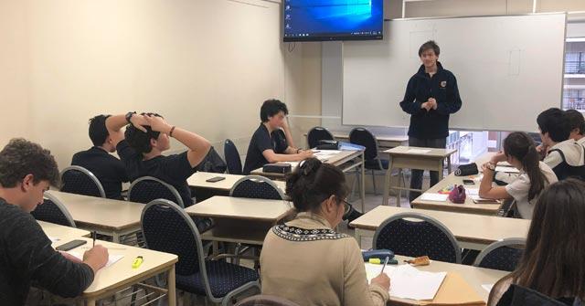 Estudiantes secundarios debatieron en la UP