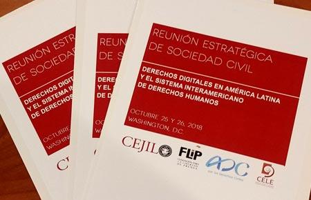 Taller sobre derechos digitales y Sistema Interamericano de Derechos Humanos en la CIDH