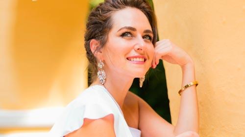"""Estefanía Turbay, la egresada que triunfó en la NY Fashion Week: """"Soñar en grande vale la pena"""""""
