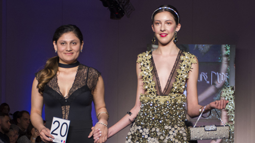 Una estudiante de la UP ganadora en Argentina Fashion Week