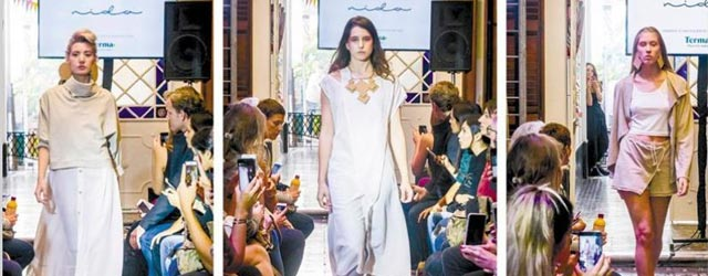 Vestirse sustentable: los diseñadores de ropa se suben a la moda medioambiental
