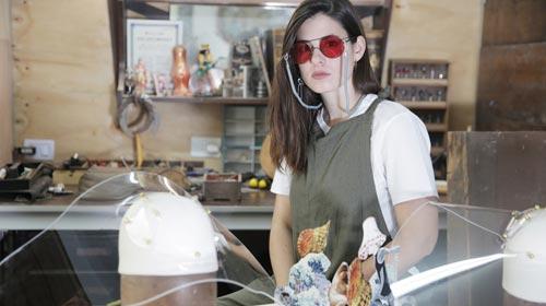 Sol Pardo, la argentina que hace sombreros de acrílico y llegó a Vogue Italia