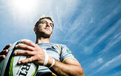 """Tomás Cubelli. """"El rugby y el estudio se complementan"""""""
