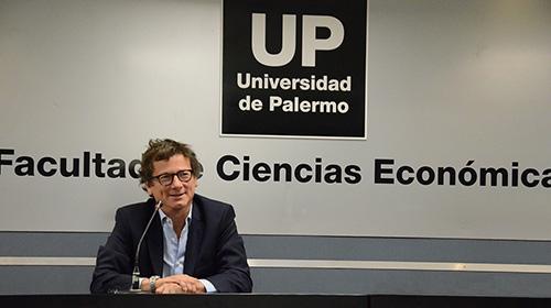 Gabriel Martino, presidente de HSBC, en la UP