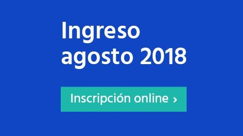 Ingreso agosto 2018