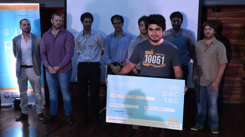 Alumno de Ingeniería Electrónica gana concurso ImpacTec 2018