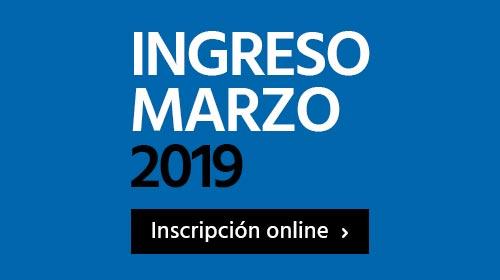 Inscripción marzo 2019