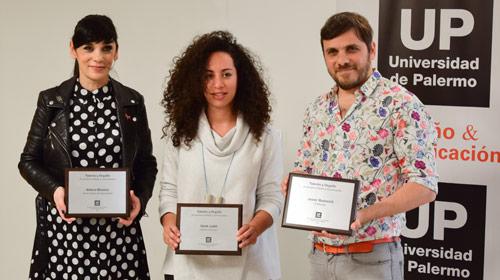 """Tres egresados de la Facultad de Diseño y Comunicación recibieron el reconocimiento """"Talento y Orgullo"""""""