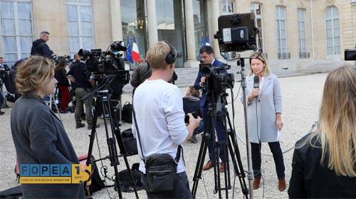 Coberturas periodísticas desde agencias de noticias y corresponsalías