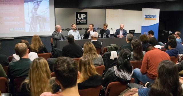 """Encuentro UP-FOPEA: """"Coberturas periodísticas desde agencias de noticias y corresponsalías"""""""