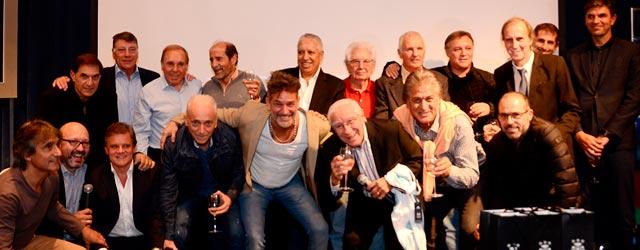 Macaya Márquez presentó su libro junto a protagonistas del fútbol argentino