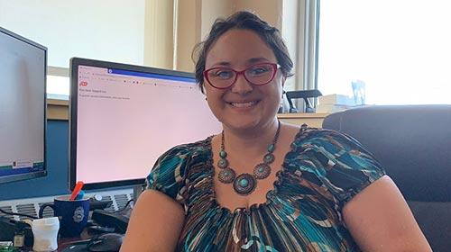 Elizabeth Acosta, egresada de Psicología UP y <em>manager</em> de la División de Health Promotion and Wellness en la agencia: Congreso de Latinos Unidos