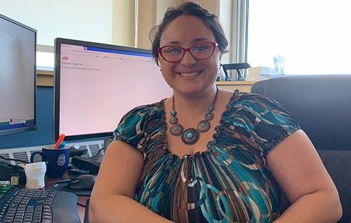 Elizabeth Acosta, egresada de Psicología UP y manager de la División de Health Promotion and Wellness en la agencia: Congreso de Latinos Unidos