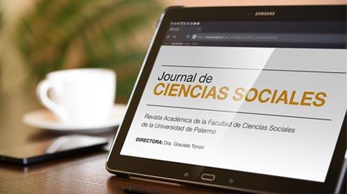 Nueva edición del Journal de Ciencias Sociales de la Universidad de Palermo
