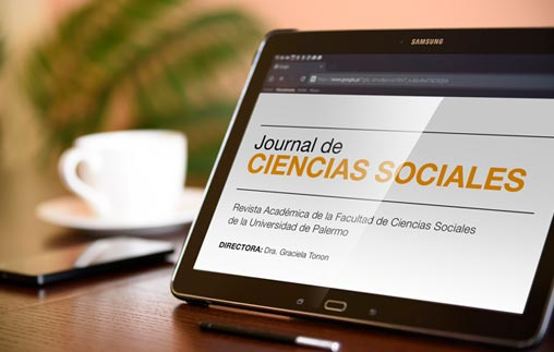 Nueva edición delJournal de Ciencias Sociales de la Universidad de Palermo