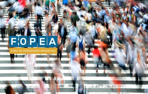 Periodismo y FOPEA | Charla abierta: Responsabilidad de los medios en la cobertura de temas de interés social